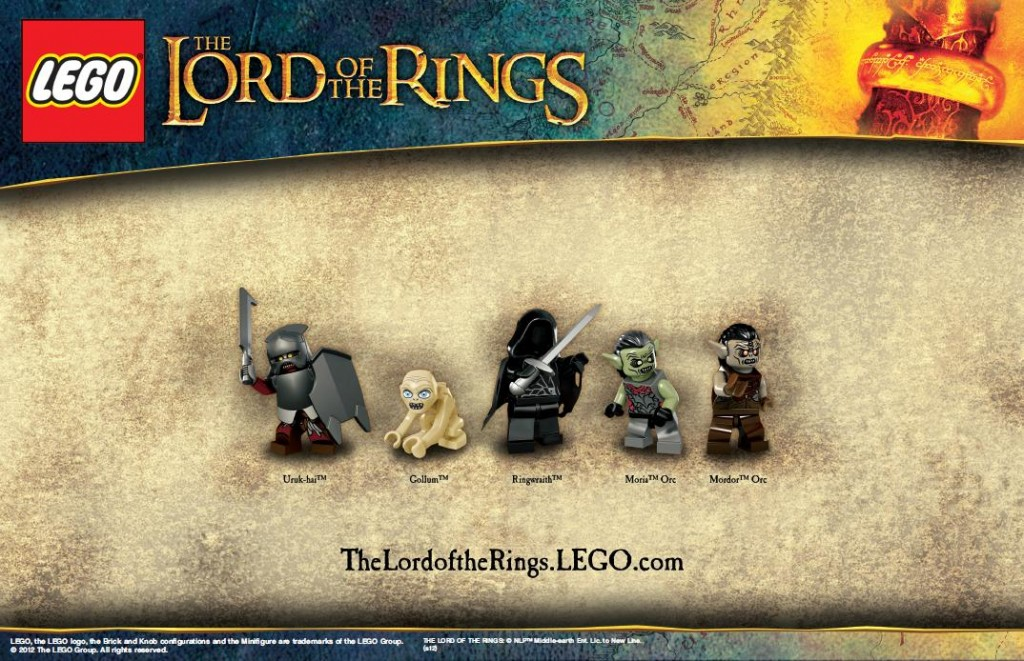 LEGO LOTR Minifigs - The Forces Of Sauron