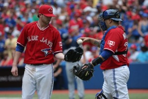 Blue Jays, red shirts - it's Canada Day!