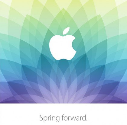 "Invitation to the Apple ""Spring Forward"" Event"