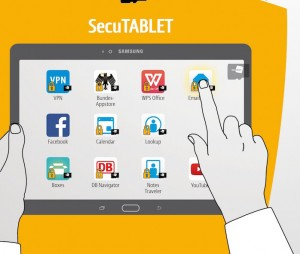 Samsung - Secusmart Tablet Interface